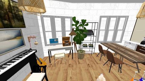 studio apartment - Minimal - by BlokhEphroni