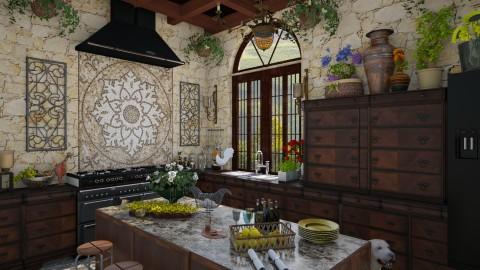 Design 106 Tuscan Kitchen - Kitchen - by Daisy320