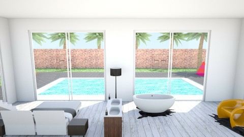 BEDROOM BATHROOM - Bedroom - by HanneLenaerts