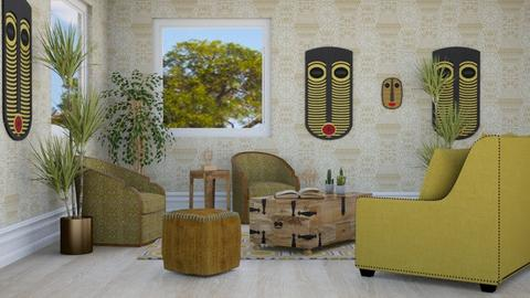 African Living - Global - Living room - by millerfam
