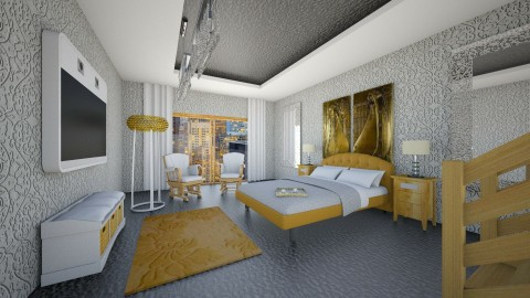 ZrS - Modern - Bedroom - by Saj Trinaest