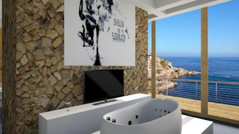 calypso palio bathroom  - Minimal - Bathroom - by Nhezi