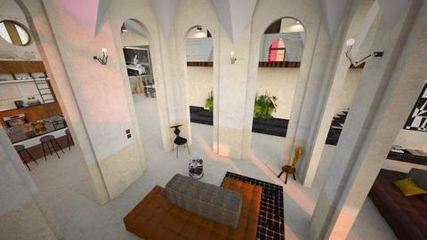 Stones - Minimal - Living room - by marinmarin