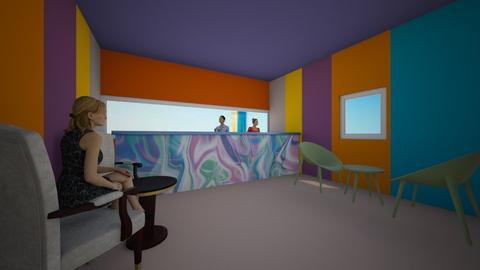 IP rave - Dining room - by husky interior designs