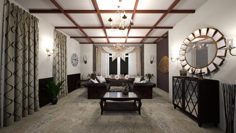 mansion - Living room - by Phoenix_shruti
