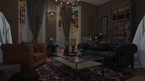 Steampunk Halloween - Living room - by Tuija