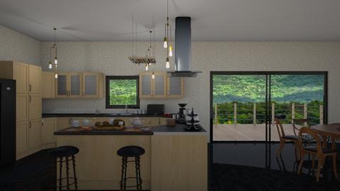 340 - Kitchen - by Jade Autumn