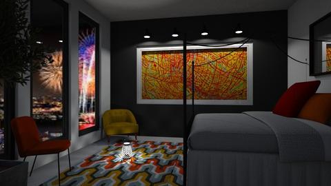 Mildred Inspired Bedroom - Bedroom - by millerfam
