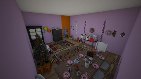 In progress - Dining room - by Guerrec21