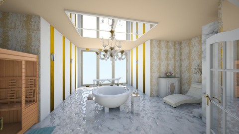 Glamour Bathroom - Glamour - Bathroom - by interiordesignmajor013