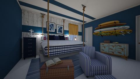 Nautical - Bedroom - by yonvie