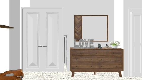 new room - Rustic - Bedroom - by ashley31