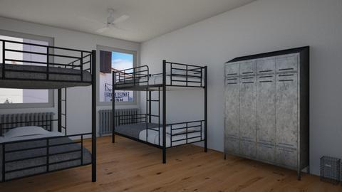 Hostel Room - by LARV