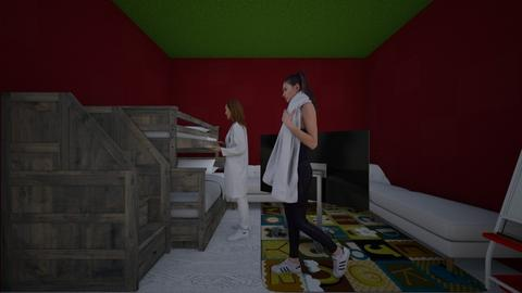 for alice and cristina - Kids room - by Maria Jose y alex