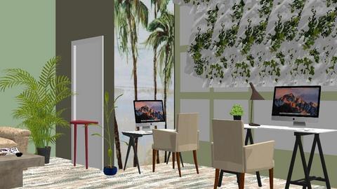 jungle office - Office - by BortikZemec