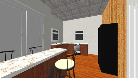 kitchen point street - Minimal - Kitchen - by jpenta13