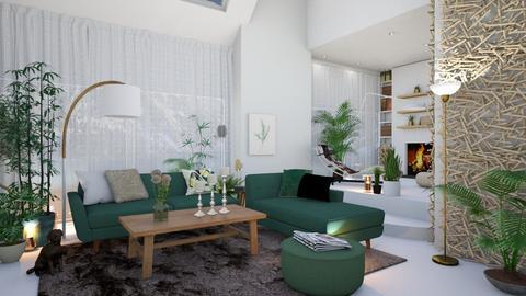 Jungle Beat - Living room - by jwaherqaseem