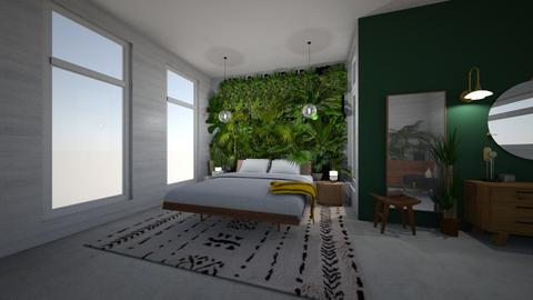 jungle - Bedroom - by ElysiaNirel