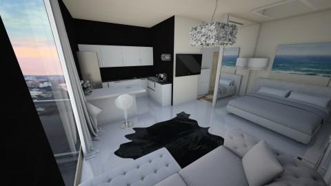 Flat 40m2 - Minimal - Bedroom - by JulieArnhem