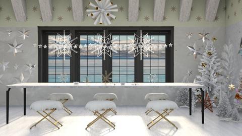 star spangled christmas - Minimal - Dining room - by kitty