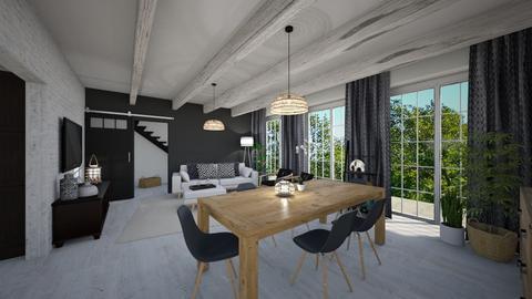 Boho home - Living room - by tornadolynn