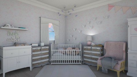 Pink Girly Nursery - by Samantha Krug