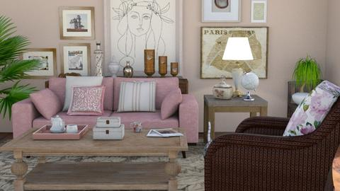 Take a break - Living room - by The quiet designer