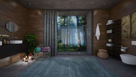 Forest  - Modern - Bathroom - by Zephyrs