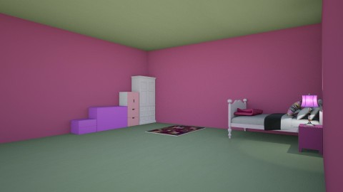 Green and Purple Life - by TaraBee28