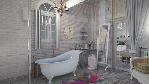 Shabby chic  - Bathroom - by augustmoon