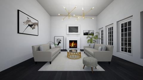 white - Living room - by Angela Quintieri
