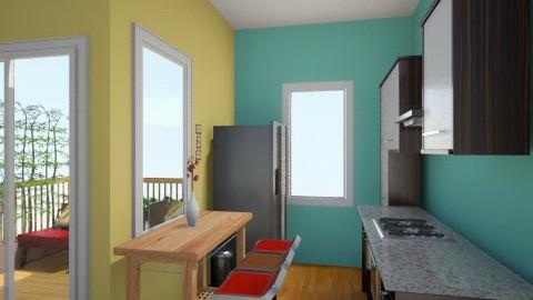 spark of Green 2 - Minimal - Living room - by herjantofarhan