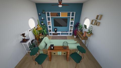 sala de estar de novo - Living room - by juliamepos