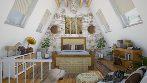Design 289 Attic Guestroom - Bedroom - by Daisy320