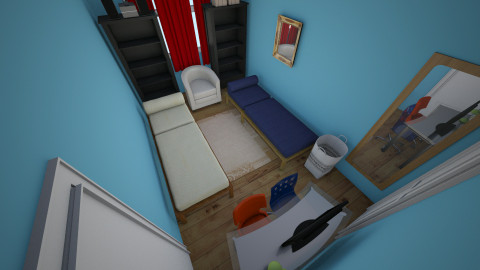 Boys Room_2 - Bedroom - by ekebreau