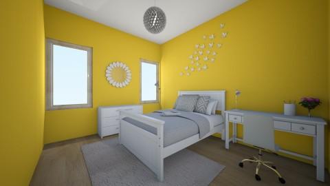 Yellow - Bedroom - by keelino9