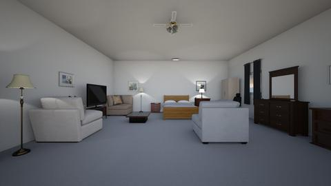Care Apartment - Bedroom - by WestVirginiaRebel