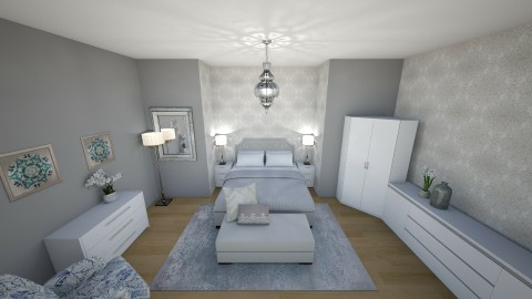 new build - Bedroom - by beckygoatcher