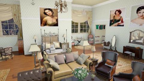 Elizabeth Taylor - Classic - Bedroom - by DiamondJ569