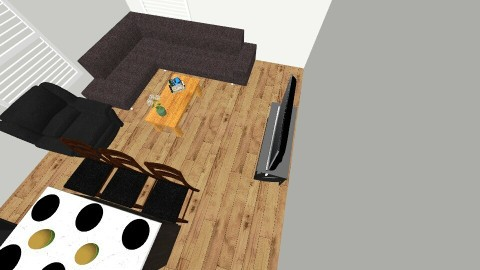 Kitchen living room - by imjustanenderbug