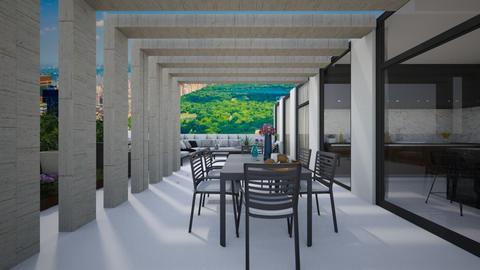 NEW YORK PENT HOUSE - Garden - by flacazarataca_1