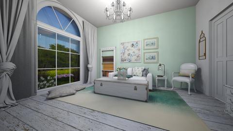 shabby  - Living room - by antonieta123
