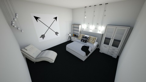 Arrows - Bedroom - by jkunselman