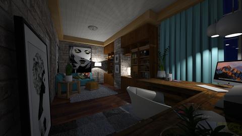 Escritorio - Office - by rosanebpf