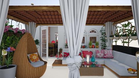 terrace 1 - Garden - by nat mi