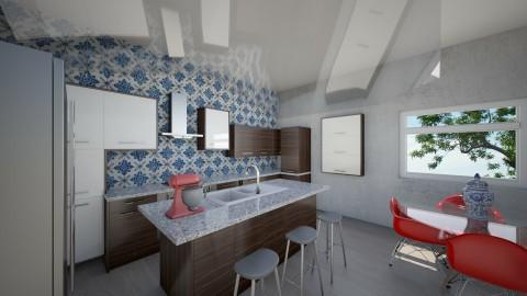 Worcester kitchen - Kitchen - by amybranco