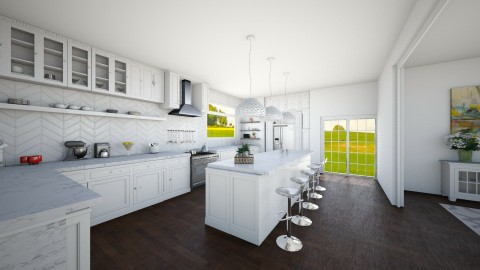 nifty kitchen - Modern - Kitchen - by luciajaimedc
