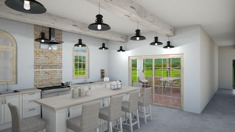Retirement Home_Kitchen - Rustic - Kitchen - by pokeystyles