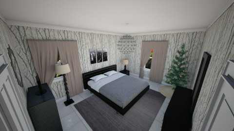 Birch Bedroom christ - Modern - Bedroom - by artmann26