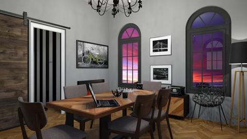 Dining room - Dining room - by monikaskawinska